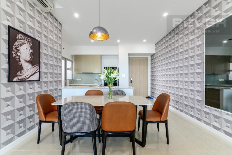 Phòng Ăn & Bếp Cho thuê căn hộ Estella Heights 3PN, tầng cao, đầy đủ nội thất, view Xa lộ Hà Nội