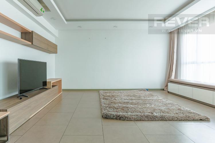 Phòng Khách Căn hộ The View Riviera Point tầng thấp 4 phòng ngủ, full nội thất