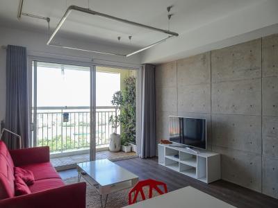 Căn hộ Tropic Garden tầng cao, 2PN, nội thất cơ bản