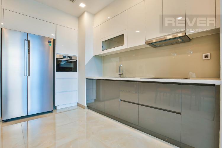 Bếp Căn hộ Vinhomes Golden River 2 phòng ngủ tầng thấp A3 hướng Tây Nam