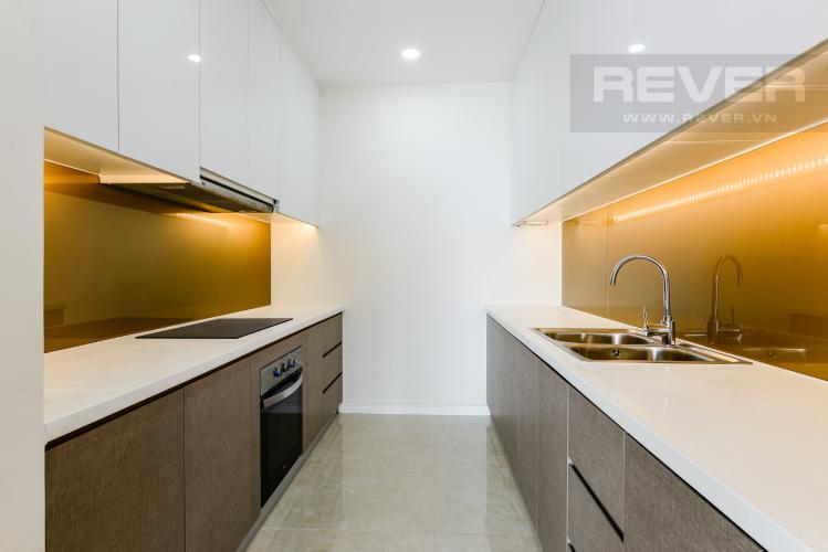Bếp Cho thuê căn hộ Masteri Millennium 2PN nội thất đầy đủ, tiện ích đa dạng