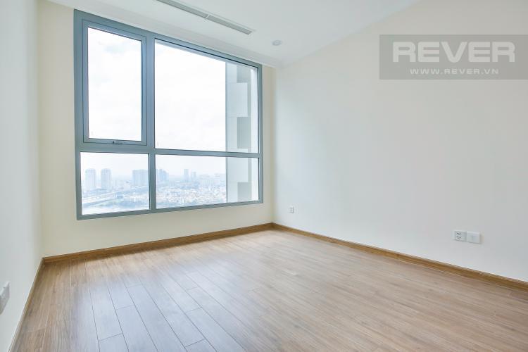 Phòng ngủ 2 Căn hộ Vinhomes Central Park tầng cao hướng Đông Bắc tháp Landmark 2