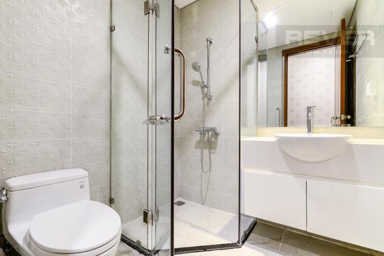 Phòng Tắm 1 Căn hộ Vinhomes Central Park 2 phòng ngủ tầng trung L5 đầy đủ nội thất