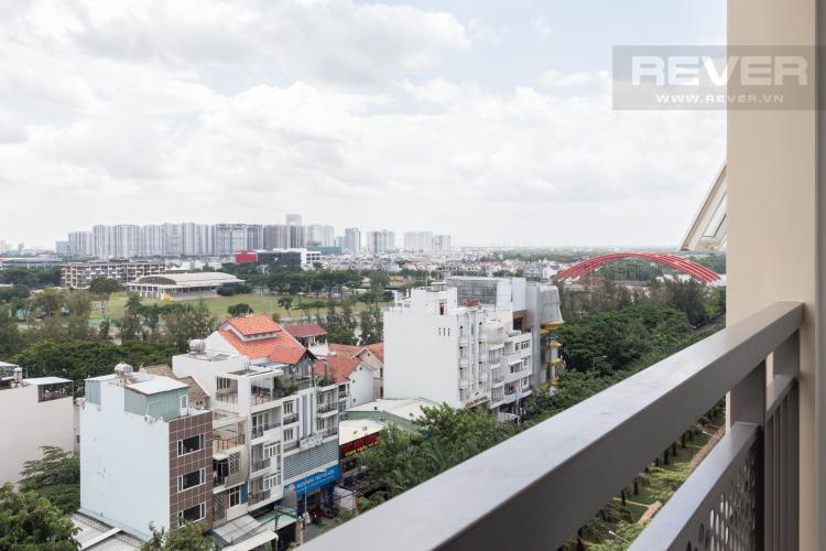 View Ban Công Cho thuê căn hộ Saigon Mia 2PN, tầng thấp, đầy đủ nội thất, view khu dân cư