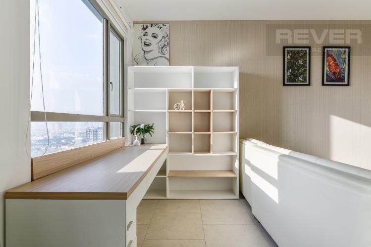Phòng Sách Căn hộ Riviera Point 2 phòng ngủ tầng cao T4 đầy đủ nội thất