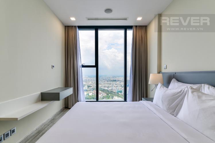 Phòng Ngủ 1 Cho thuê căn hộ Vinhomes Golden River tầng cao, 2PN, đầy đủ nội thất, view đẹp