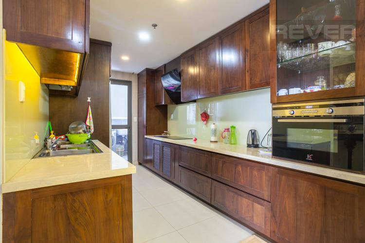 Nhà Bếp Căn hộ Masteri Thảo Điền 3 phòng ngủ tầng trung T5 view nội khu