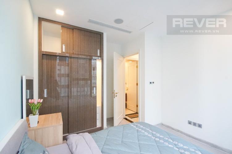 Phòng Ngủ Cho thuê căn hộ Vinhomes Golden River 1PN, tầng cao, đầy đủ nội thất, view sông thoáng mát
