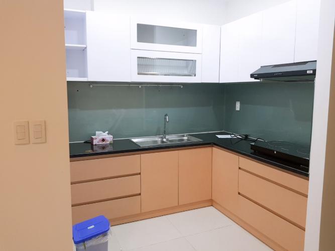Phòng bếp căn hộ chung cư Galaxy 9, Quận 4 Căn hộ chung cư Galaxy 9 đầy đủ nội thất, view nội khu.