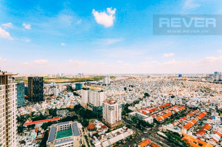 View Bán căn hộ RiverGate Residence hướng Đông Bắc, 114m2, view thành phố