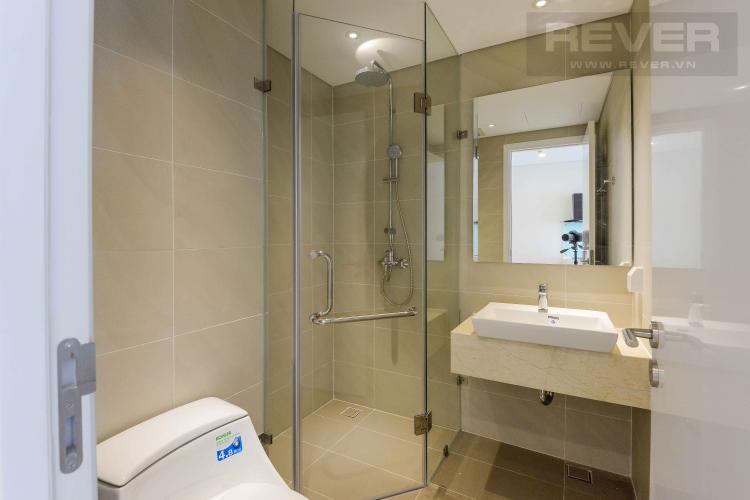 Toilet Cho thuê căn hộ Diamond Island - Đảo Kim Cương 1PN, tầng thấp, đầy đủ nội thất, view trực diện sông