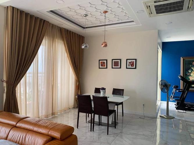 không gian nhà căn hộ Tropic Garden Bán căn hộ Penthouse nội thất đầy đủ, view sông Tropic Garden