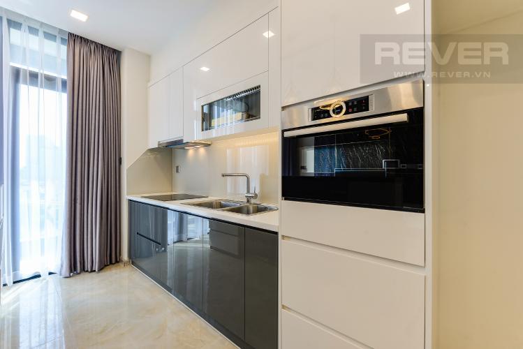 Bếp Căn hộ Vinhomes Golden River tầng thấp A3 view sông 2 phòng ngủ