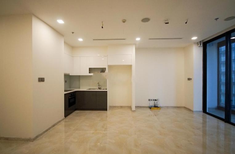 Phòng khách Vinhomes Golden River, Quận 1 Căn hộ Vinhomes Golden River tầng cao, ban công view Đông Bắc.