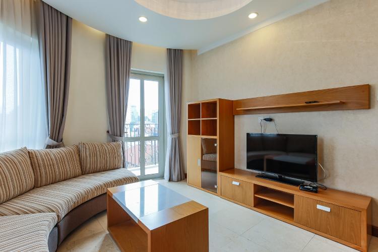 Căn hộ Saigon Pavillon 3 phòng ngủ tầng thấp đầy đủ nội thất