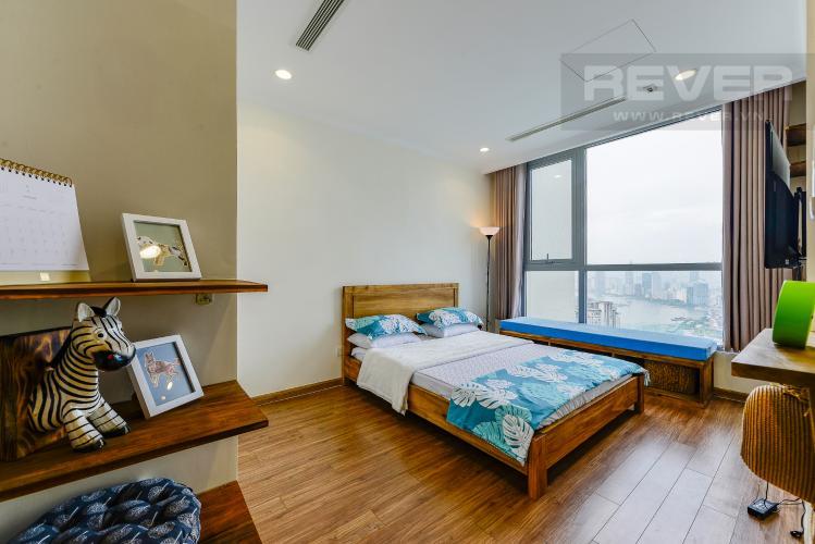 Phòng ngủ Cho thuê căn hộ Vinhomes Central Park tầng cao, view đẹp, đầy đủ nội thất