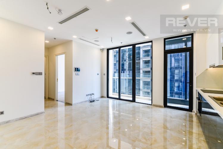 Phòng Khách Officetel Vinhomes Golden River 2 phòng ngủ tầng thấp A1 hướng Đông