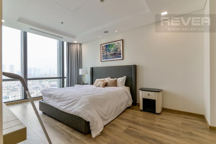 Phòng Ngủ 1 Căn hộ Vinhomes Central Park tháp Landmark 81, 4PN 2WC, nội thất đầy đủ