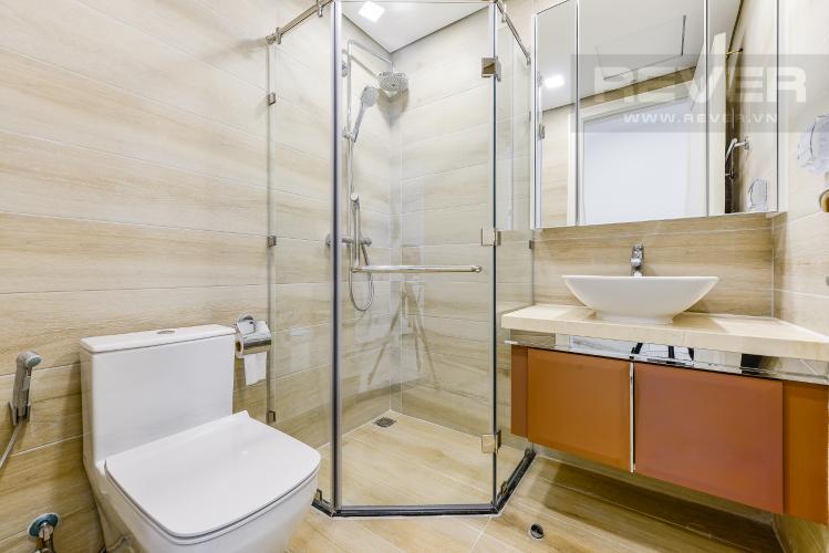 Phòng tắm 1 Căn hộ Vinhomes Golden River tầng cao, tháp Aqua 3, 2 phòng ngủ, full nội thất