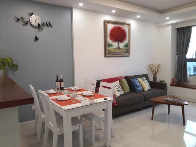 Cho thuê căn hộ The Gold View 2PN, diện tích 67m2, đầy đủ nội thất, hướng ban công Đông Nam