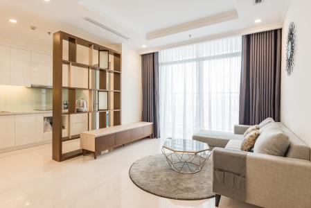 Cho thuê căn hộ Vinhomes Central Park 3PN, tầng 37 tháp Landmark 5