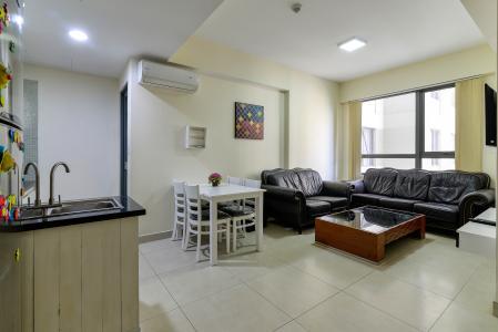 Cho thuê căn hộ Masteri Thảo Điền 2PN, tháp T3, đầy đủ nội thất, view nội khu