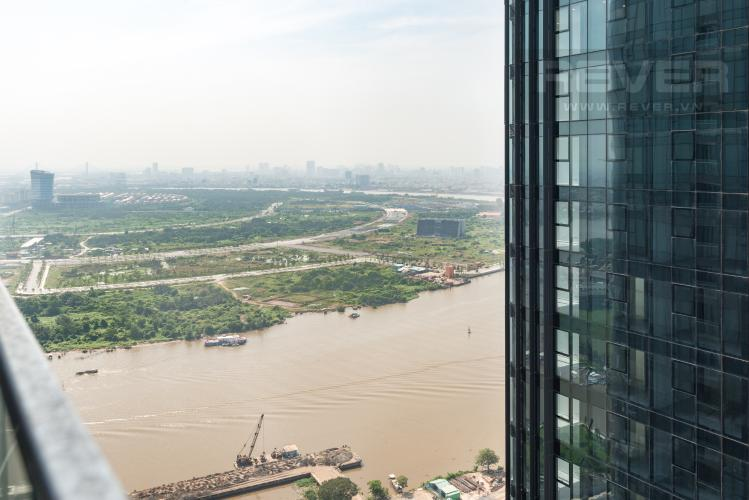 View Căn hộ Vinhomes Golden River tầng cao, 1PN nội thất đầy đủ