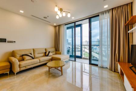 Căn hộ Vinhomes Golden River tầng thấp tòa Aqua 4, 73,3m2, 2 phòng ngủ, full nội thất