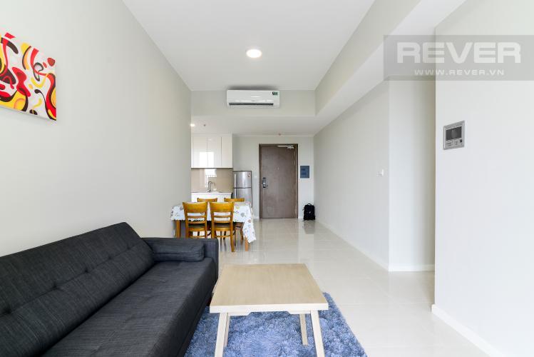 Phòng Khách Cho thuê căn hộ Masteri An Phú 2PN, tầng trung, tháp B, đầy đủ nội thất