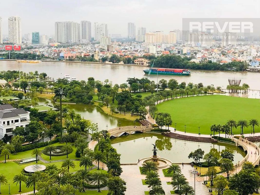 dcf2cabba54d43131a5c Cho thuê căn hộ Vinhomes Central Park 4PN, tháp Park 6, diện tích 154m2, đầy đủ nội thất, view sông và công viên