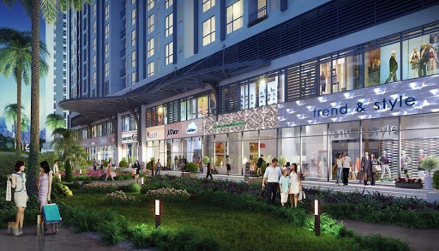 Nội khu Shop House Q7 Sài Gòn Riverside Bán shop-house Q7 Saigon Riverside dân cư sầm uất, hiện đại.