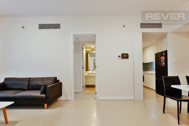 Phòng Khách Căn hộ Gateway Thảo Điền tầng cao, tháp Aspen, 1PN đầy đủ nội thất
