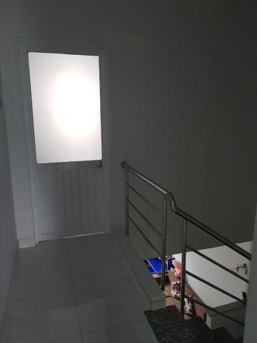 Cầu thang nhà phố Chuyên Đùng, Quận 7 Nhà phố quận 7, sổ hồng riêng, khu dân cư an ninh.