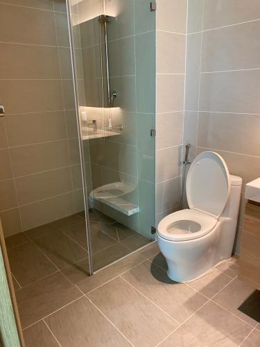 Phòng tắm Sadora Apartment, Quận 2 Căn hộ Sadora Apartment tầng cao view thành phố tuyệt đẹp.