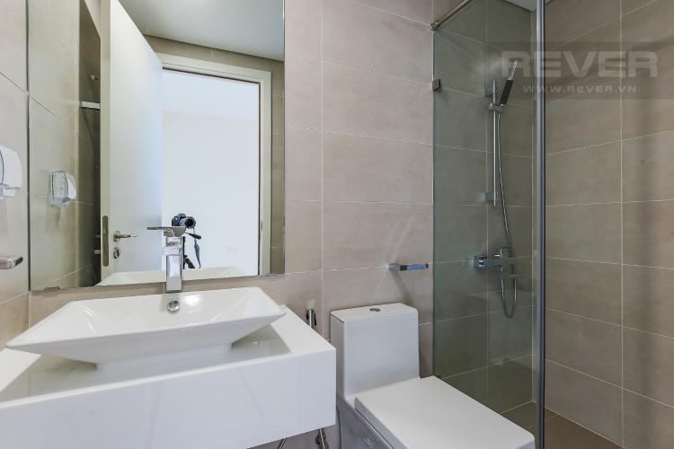 Phòng Tắm 1 Bán căn hộ Masteri Millennium tầng trung, 2PN, view hồ bơi và toàn cảnh thành phố