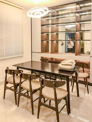 Phòng Ăn Cho thuê căn hộ Sunrise CityView 3PN, tầng trung, diện tích 105m2, đầy đủ nội thất