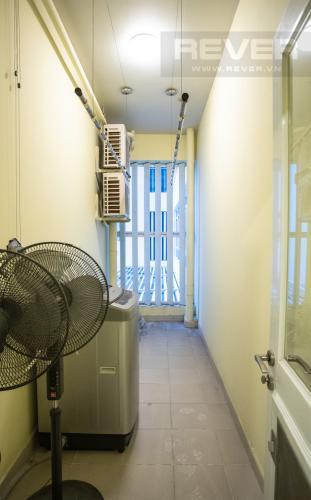 Lô Gia Cho thuê căn hộ Riverside Residence, tầng thấp, đầy đủ nội thất, hướng Đông đón gió