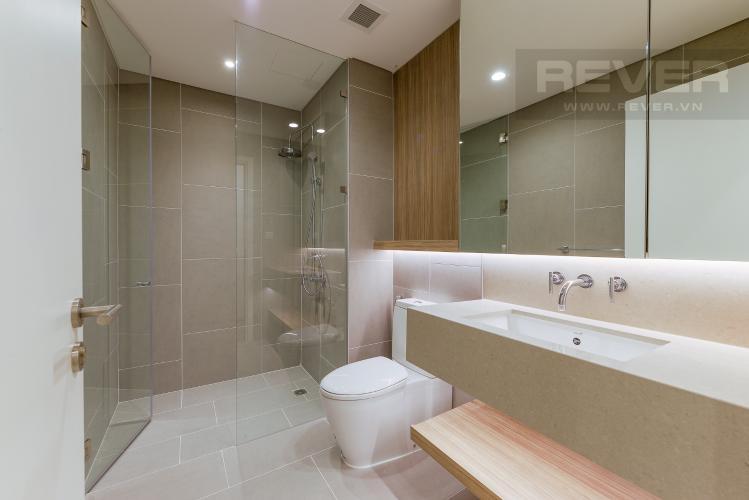 Phòng tắm 1 Căn hộ City Garden tầng cao, 2PN đầy đủ nội thất, view đẹp