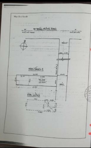 Mặt bằng nhà phố đường Trần Hưng Đạo, Quận 5 Nhà phố hướng Đông diện tích 98.13m2, bàn giao nội thất cơ bản.