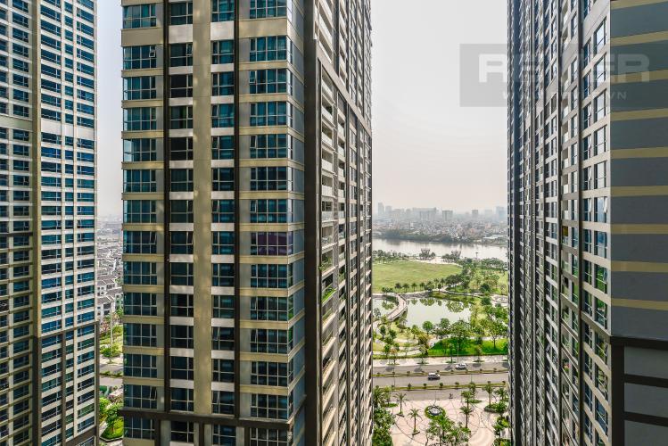 View Căn hộ Vinhomes Central Park 3 phòng ngủ tầng trung P6 view sông