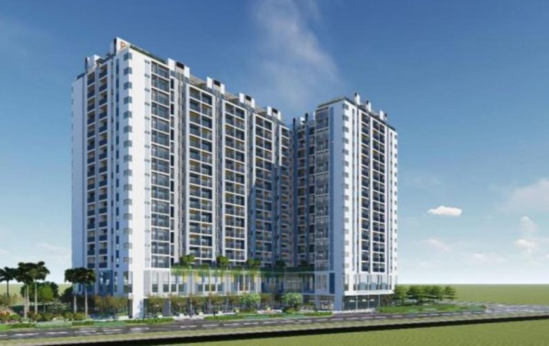 Phối cảnh khu căn hộ RICCA Bán căn hộ Ricca 1PN+1, tầng 15, không nội thất, chưa bàn giao