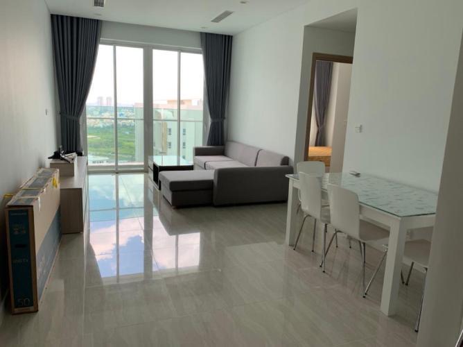 Căn hộ Sadora Apartment tầng cao, view nội khu thoáng mát.