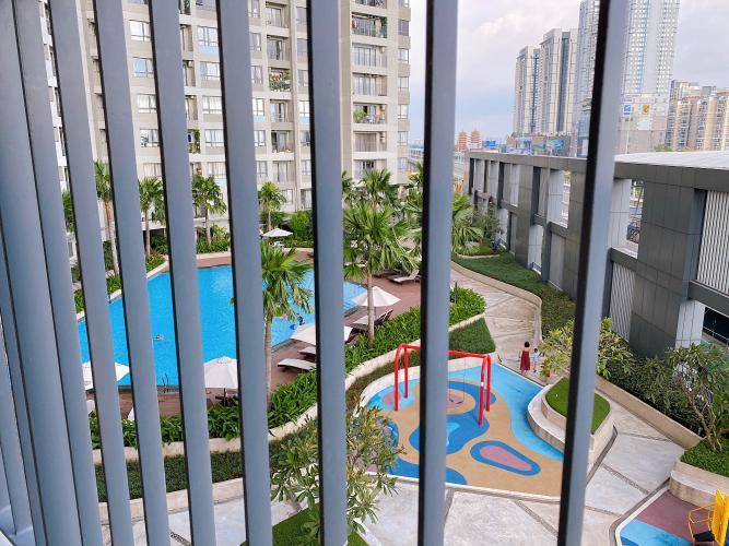 View Masteri Thảo Điền Quận 2 Căn hộ Masteri Thảo Điền view nội khu hồ bơi, nội thất sang trọng.