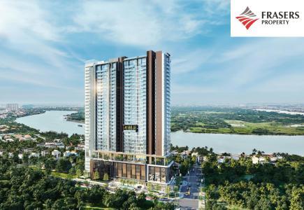 Bán căn hộ Q2 Thao Dien 4 phòng ngủ, diện tích 181m2, nội thất cơ bản, view sông
