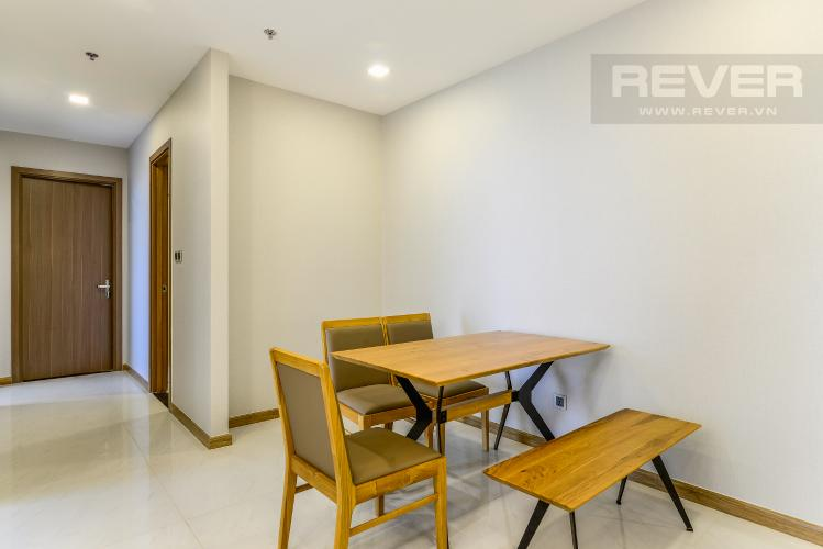 Phòng Ăn Cho thuê căn hộ Vinhomes Central Park tầng cao 3PN nội thất đầy đủ, view sông