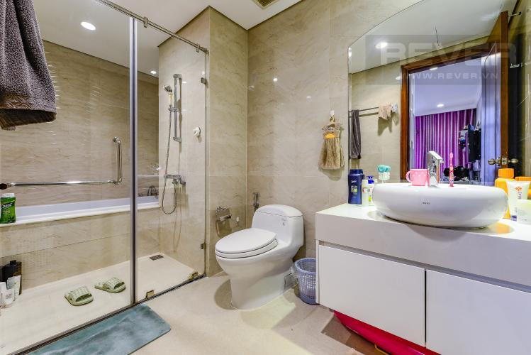 Phòng tắm 1 Căn hộ Vinhomes Central Park 4 phòng ngủ tầng trung C2 view sông