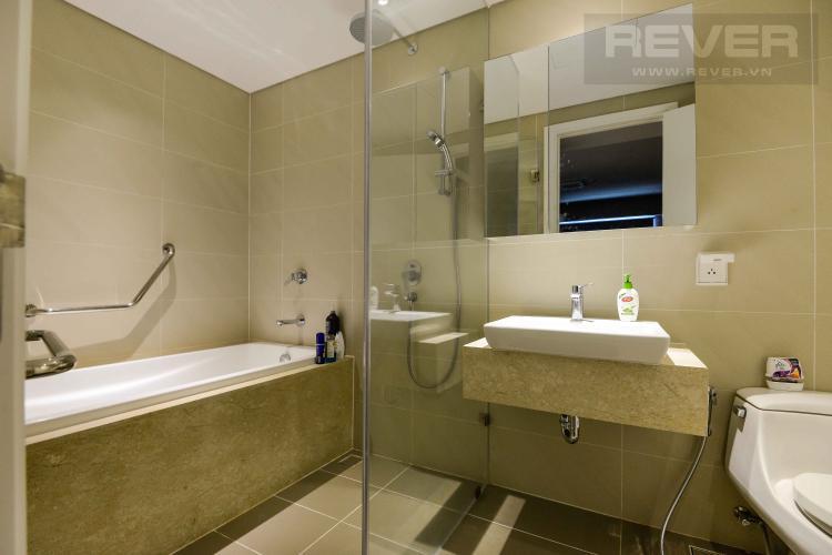 Toilet 2 Cho thuê căn hộ Diamond Island - Đảo Kim Cương 3PN, tầng trung, tháp Bahamas, là căn góc, đầy đủ nội thất, view sông thoáng mát