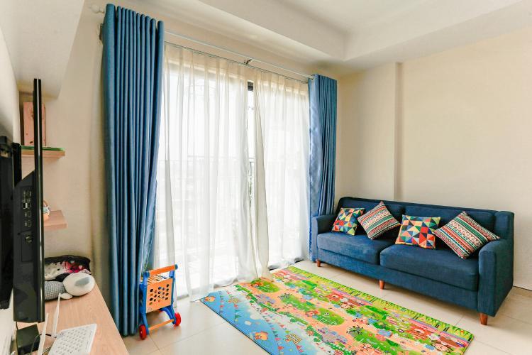 Căn hộ M-One Nam Sài Gòn tầng cao, tháp T1, 2 phòng ngủ, full nội thất