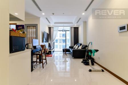 Bán căn hộ Vinhomes Central Park 2PN, tầng cao, diện tích 79m2, đầy đủ nội thất, view thành phố