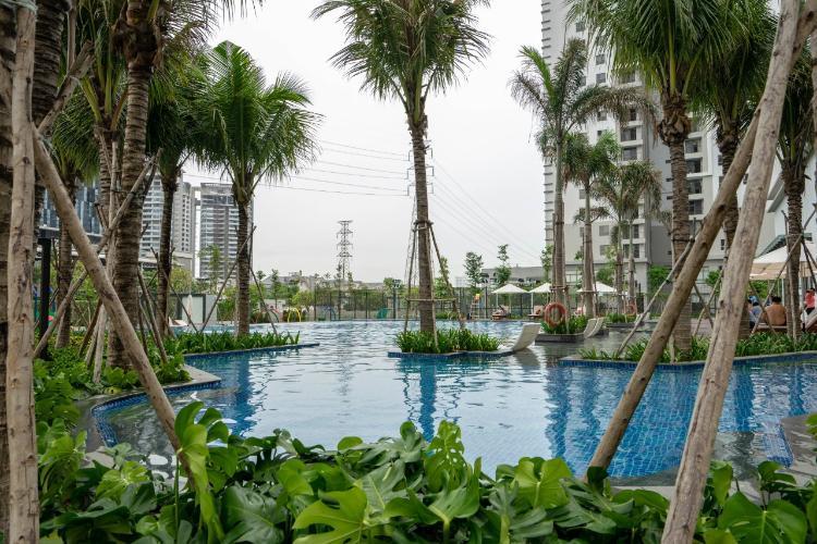 Tiện ích Saigon South Residence, Nhà Bè Căn hộ Saigon South Residence bàn giao thô, cửa chính hướng Tây.